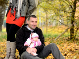 Podzimní rodinné foto